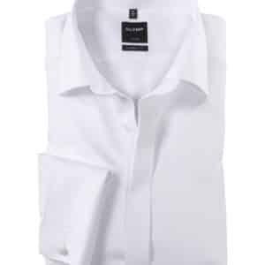OLYMP Luxor – Blanc – Modern fit – Col New Kent